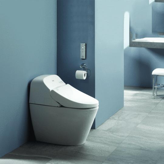 TOTO® WASHLET® G400 Bidet Seat with Integrated Dual Flush