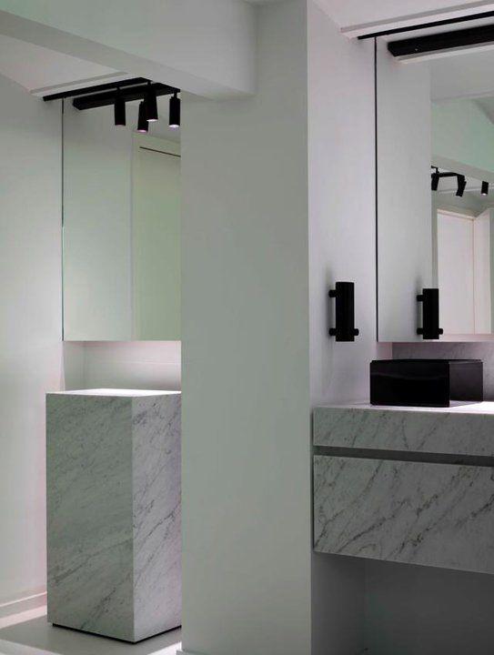 Sleek Bathroom, Renaissance Store In Antwerp Belgium By Glenn Sestig  Architects
