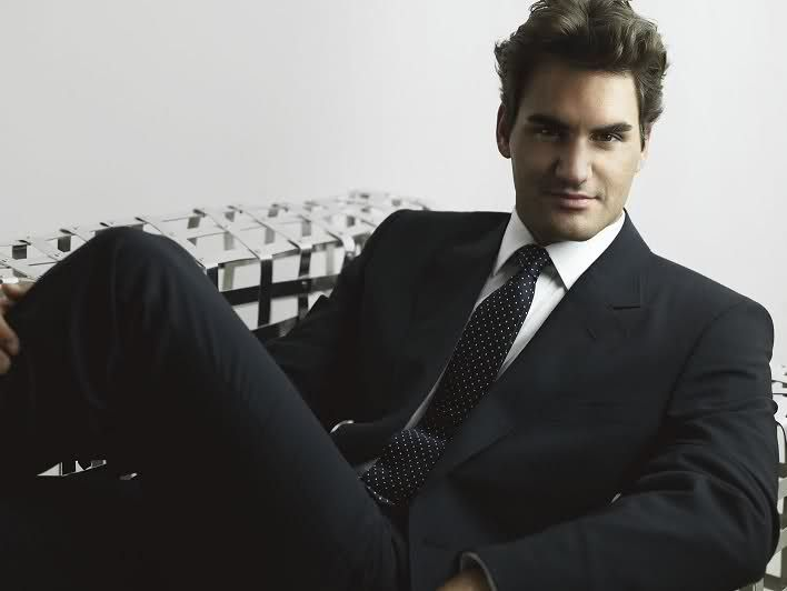 Image result for Federer in suit