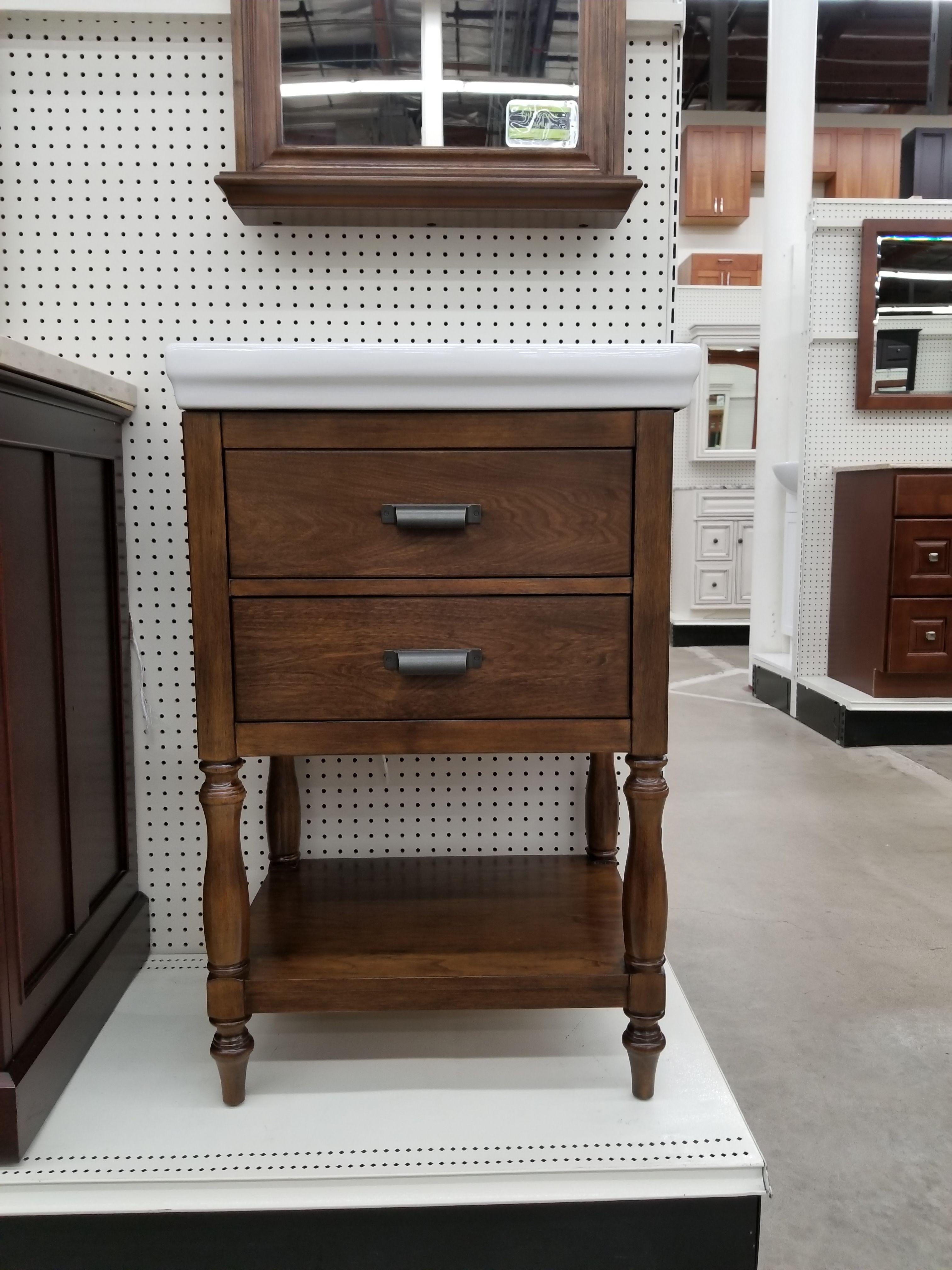Cherie Dark Walnut Vanity & Top   Kitchen cabinets in ...