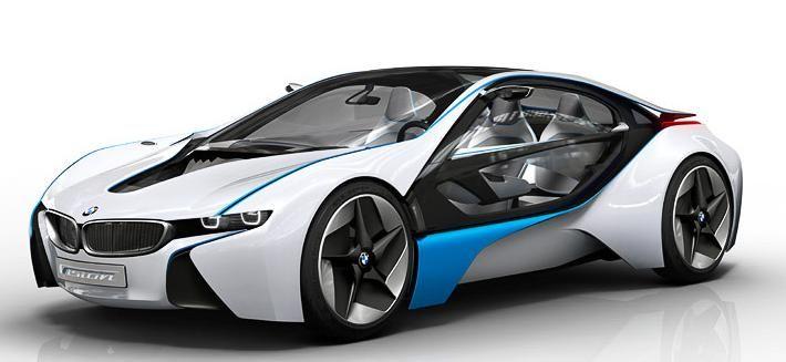 Bmw Vision I8 Bmw Concept Car Hybrid Car Bmw I8