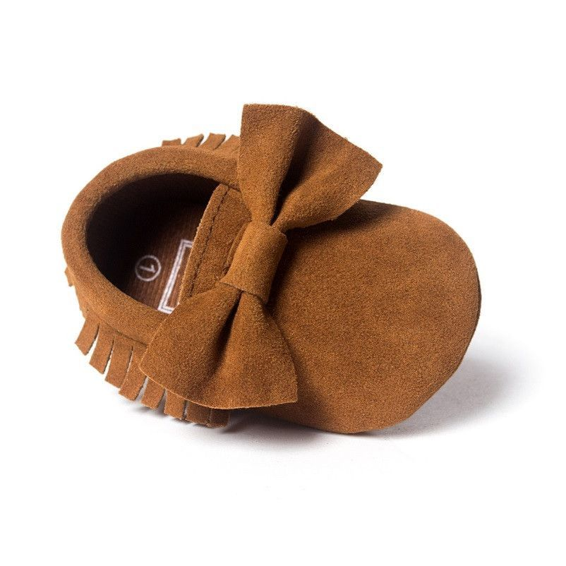 Bow Suede Shoes