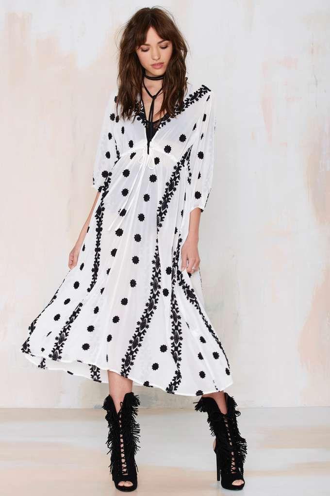03071adee2 Rosarito Embroidered Maxi Dress - Midi + Maxi