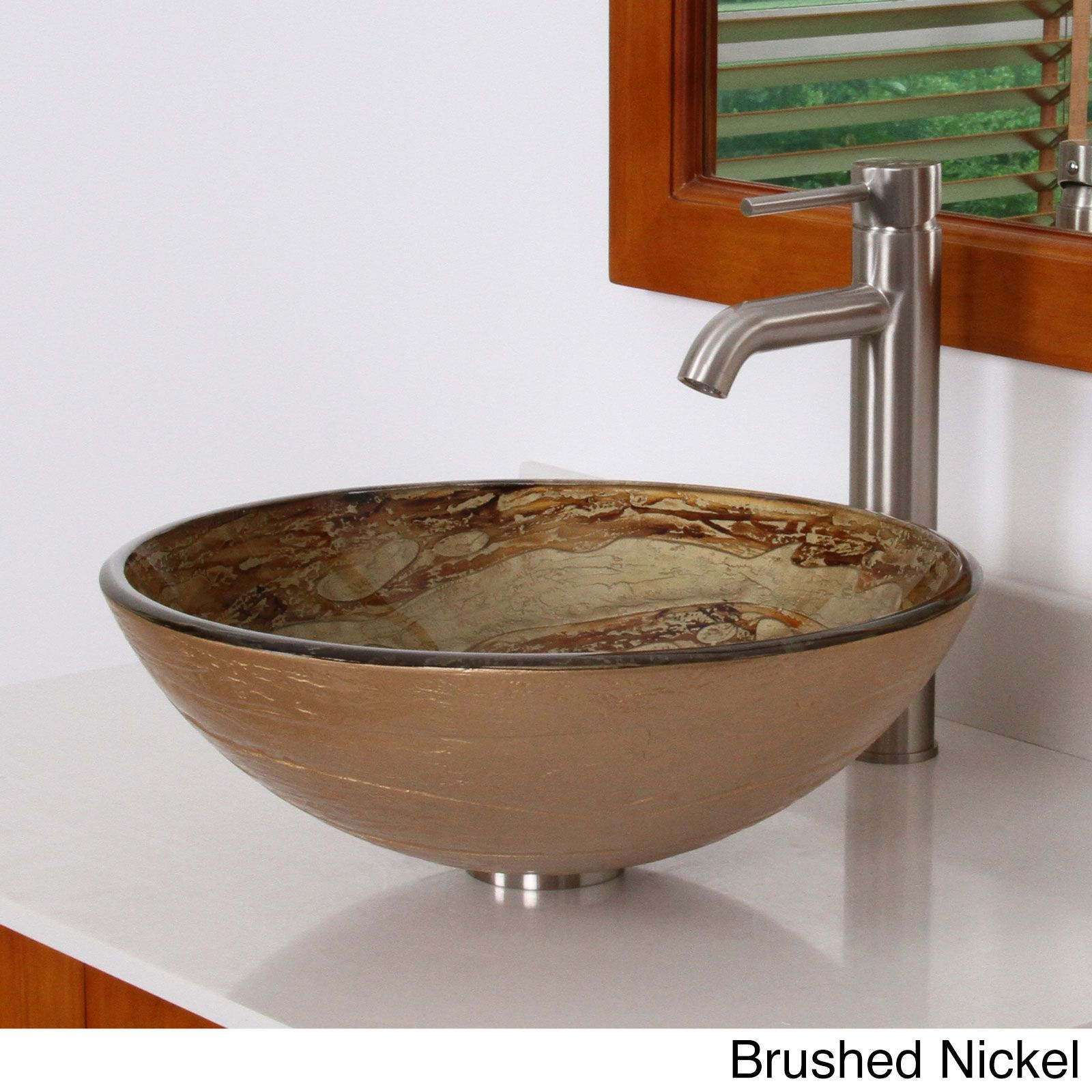 Seville Vessel Sink Bathroom Faucet