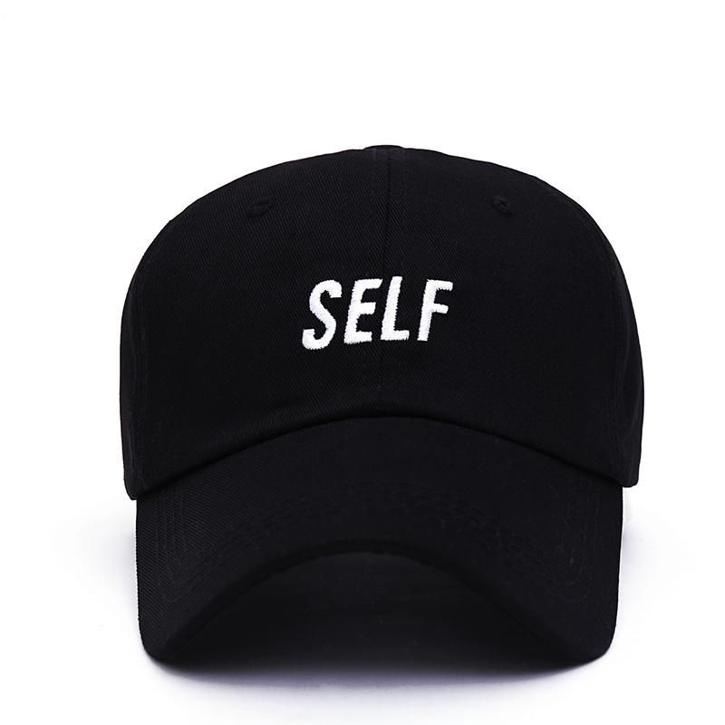 8e120920b1c 2017 new Bryson Tiller SELF hat - Dad cap black true to self trapsoul men women  baseball cap