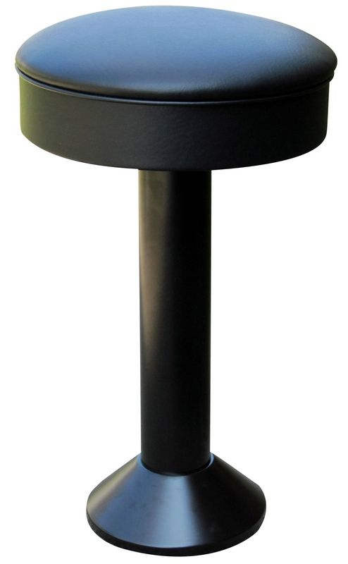 Add Some Permanent Seating With A Floor Mounted Bar Stool From