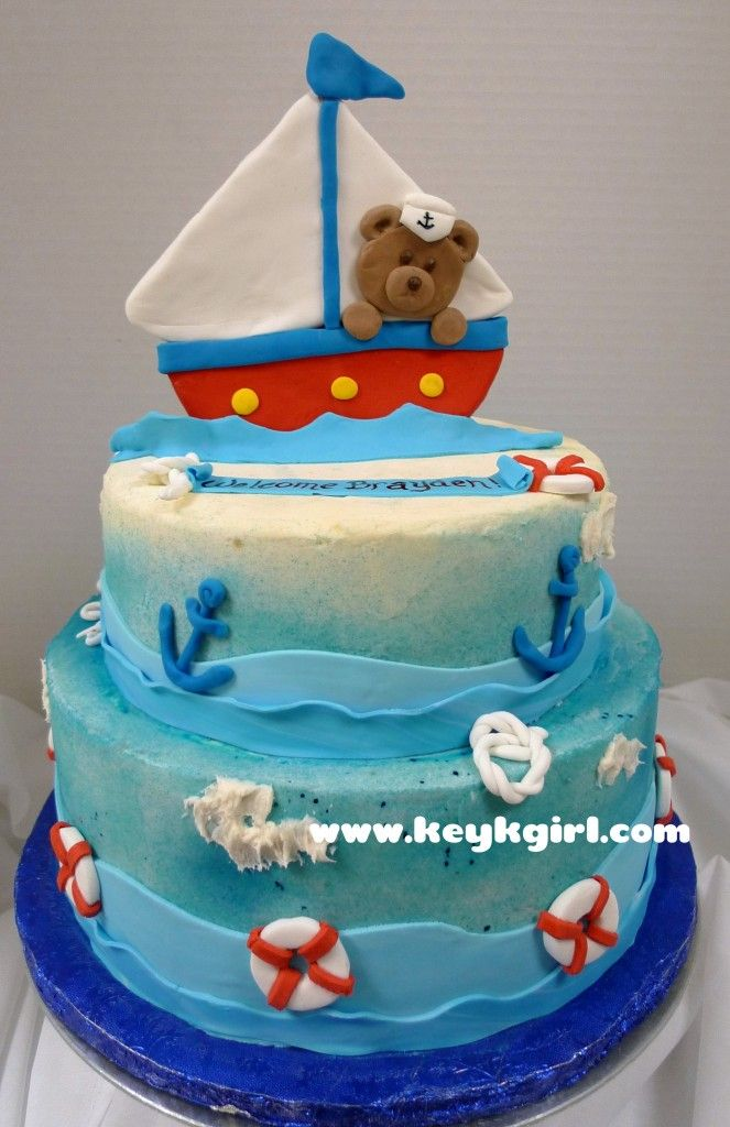 Baby Shower Cakes: Nautical Baby Shower Cake Publix