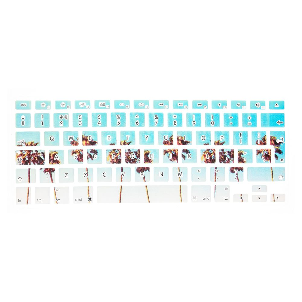 Palm Tree Keyboard Cover