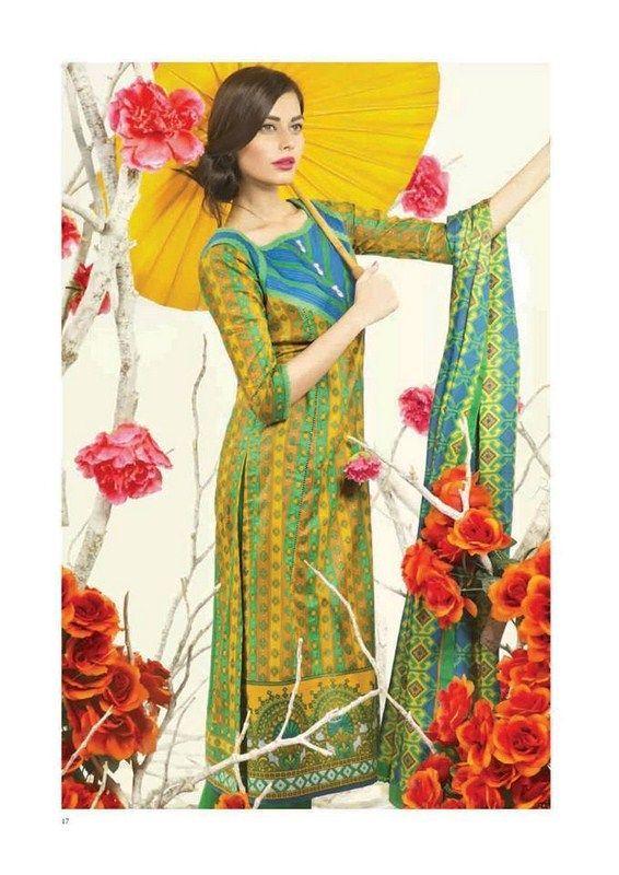 Bonanza Lawn Dresses 2014 For Women 006 | FashionInStep ...