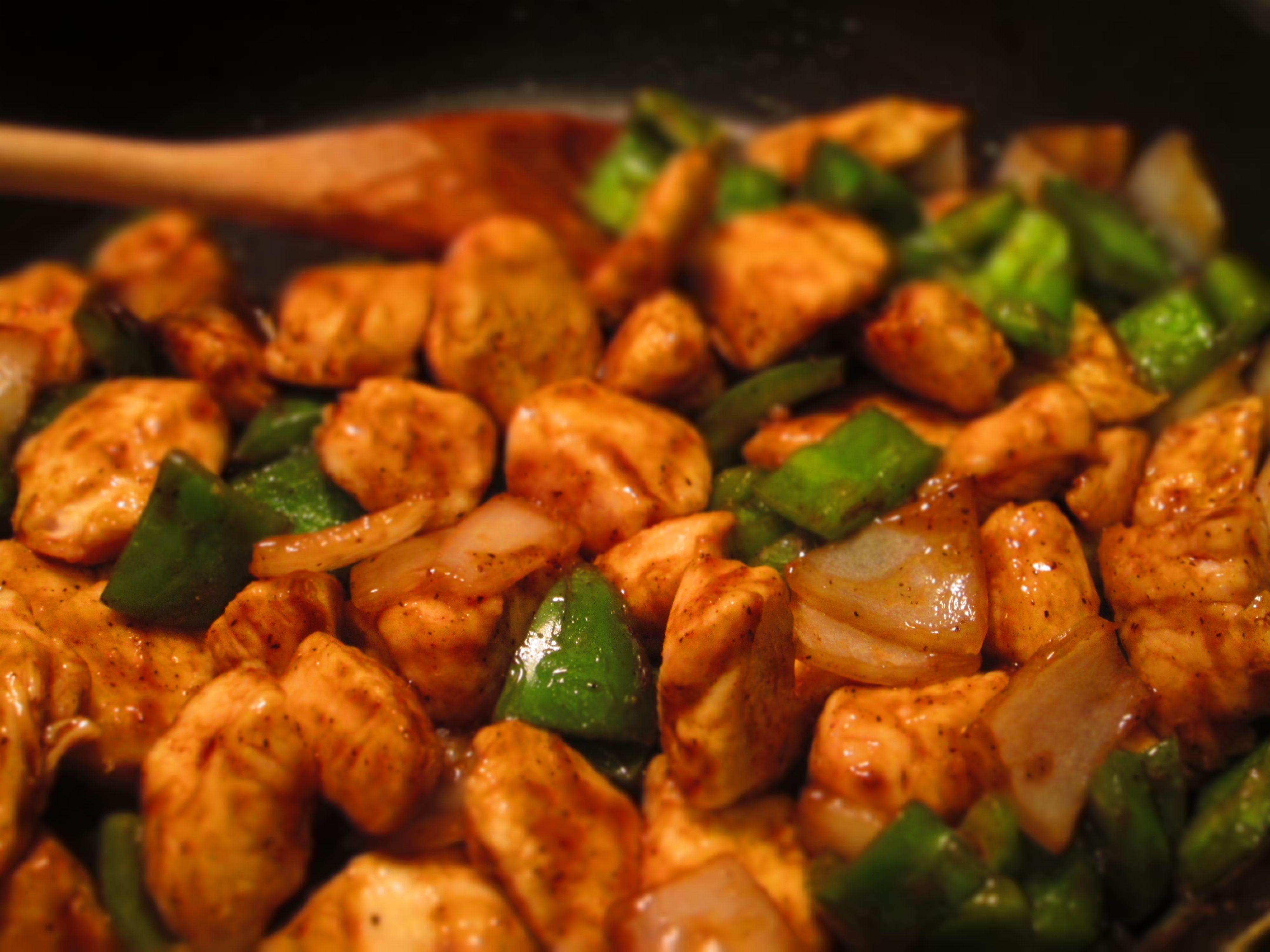 Chinese Buffet Black Pepper Chicken