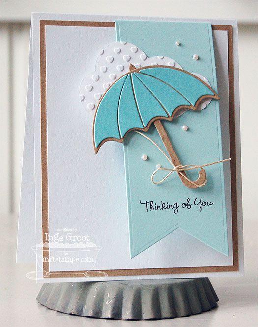 Днем святого, открытка девочка с зонтиком своими руками