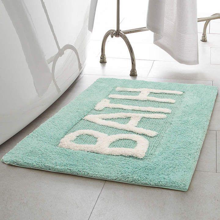 Jean Pierre Creative Home Word Cotton 21x34 Bath Rug Cotton Bath