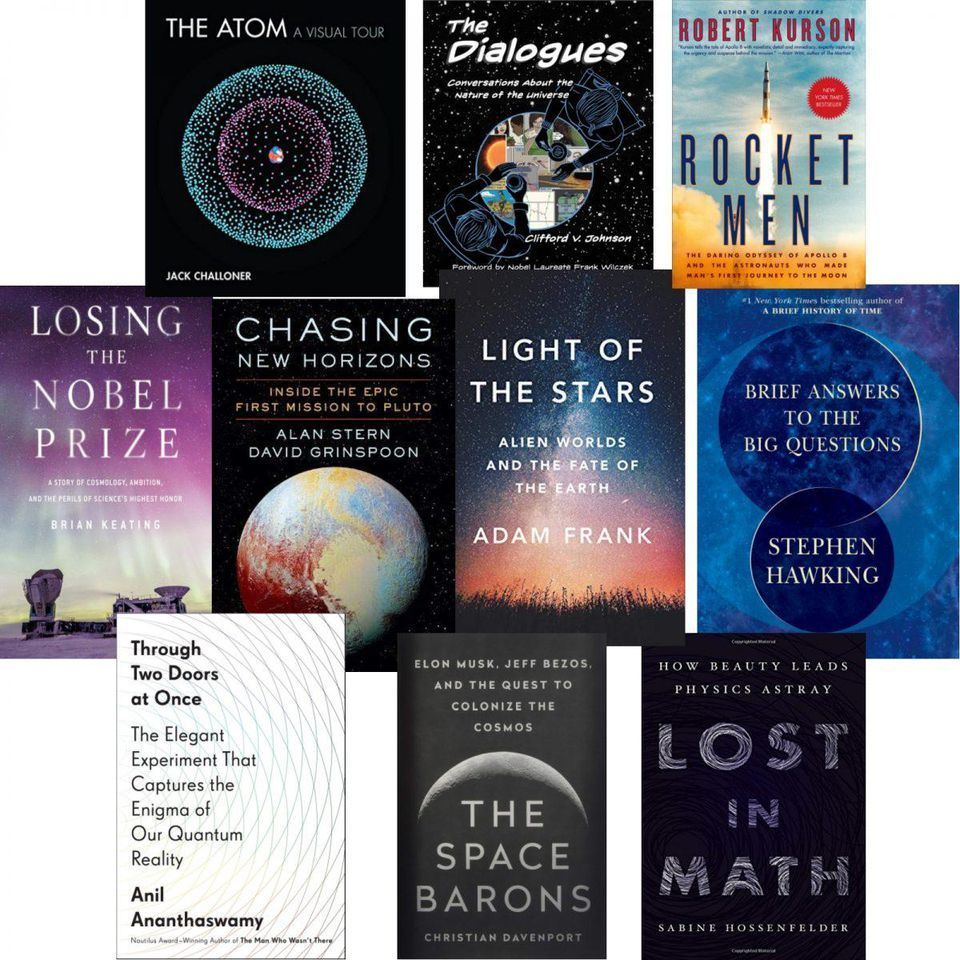 Ten Of The Best Books About Astronomy, Physics And Mathematics Of 2018 is part of Physics and mathematics - Whether you are giving gifts to others or to yourself this holiday season, this list of the best popular science books of 2018 about astronomy, physics and mathematics is a great place to start reading and gifting