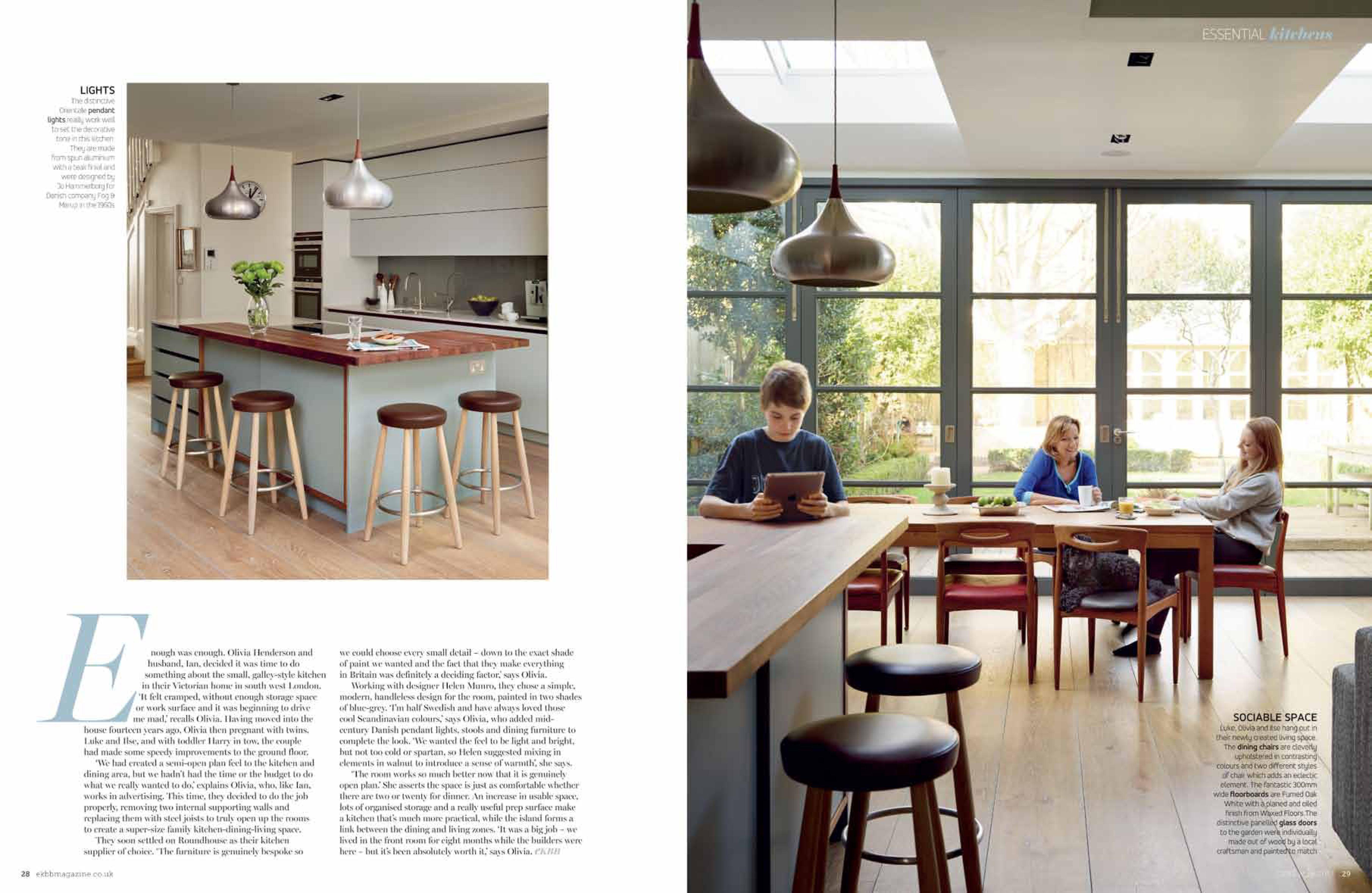 Roundhouse Design A Bespoke Designer Kitchen Company In London &