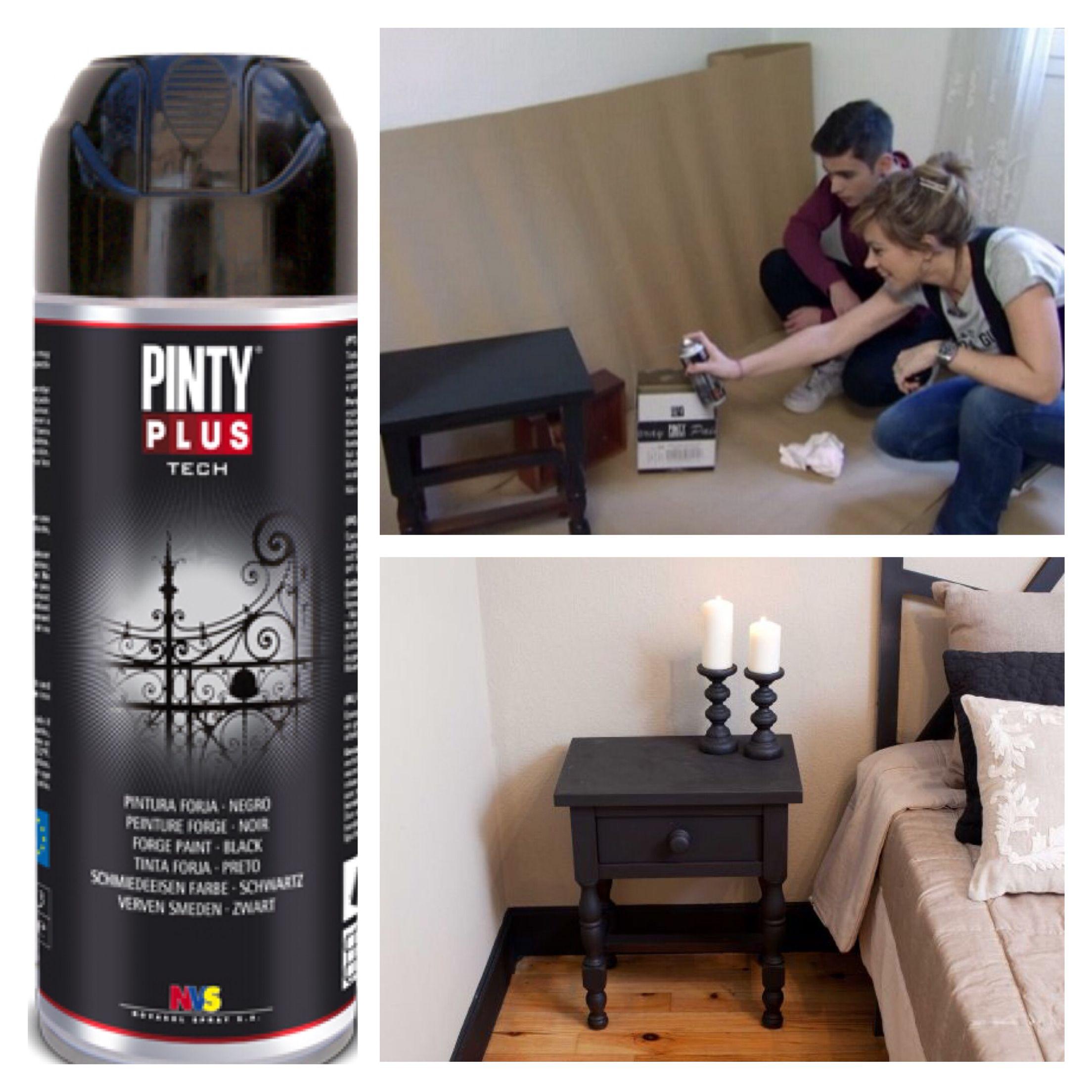 Pintura pintyplus forja en spray por novasol spray y - Pintura con spray ...
