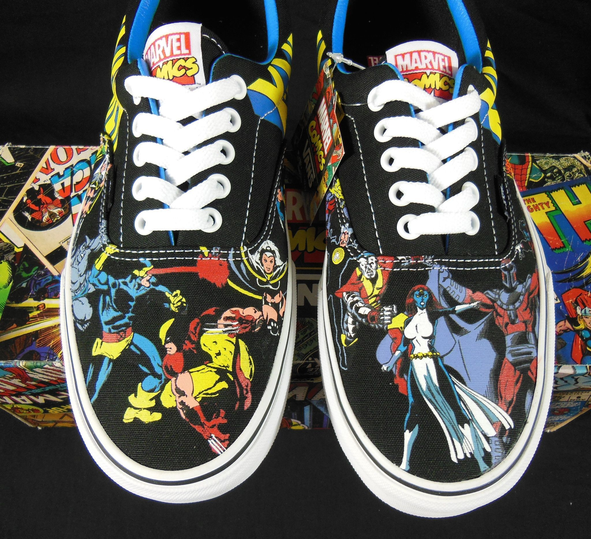 8916bbacf9 Vans X-Men Marvel Comics Kicks   Sneakers