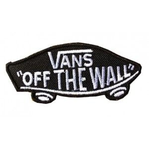skateboard motif vans