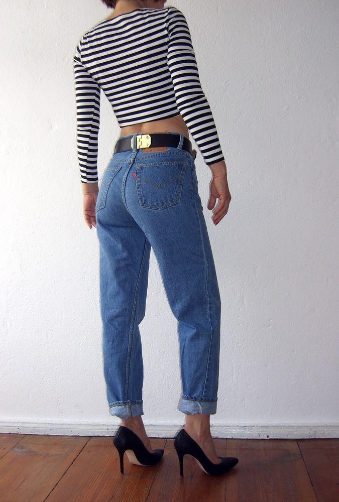Levis 501 Jeans Vintage Fruhe 80er Jahre Hellblau Red Tab Gr 30