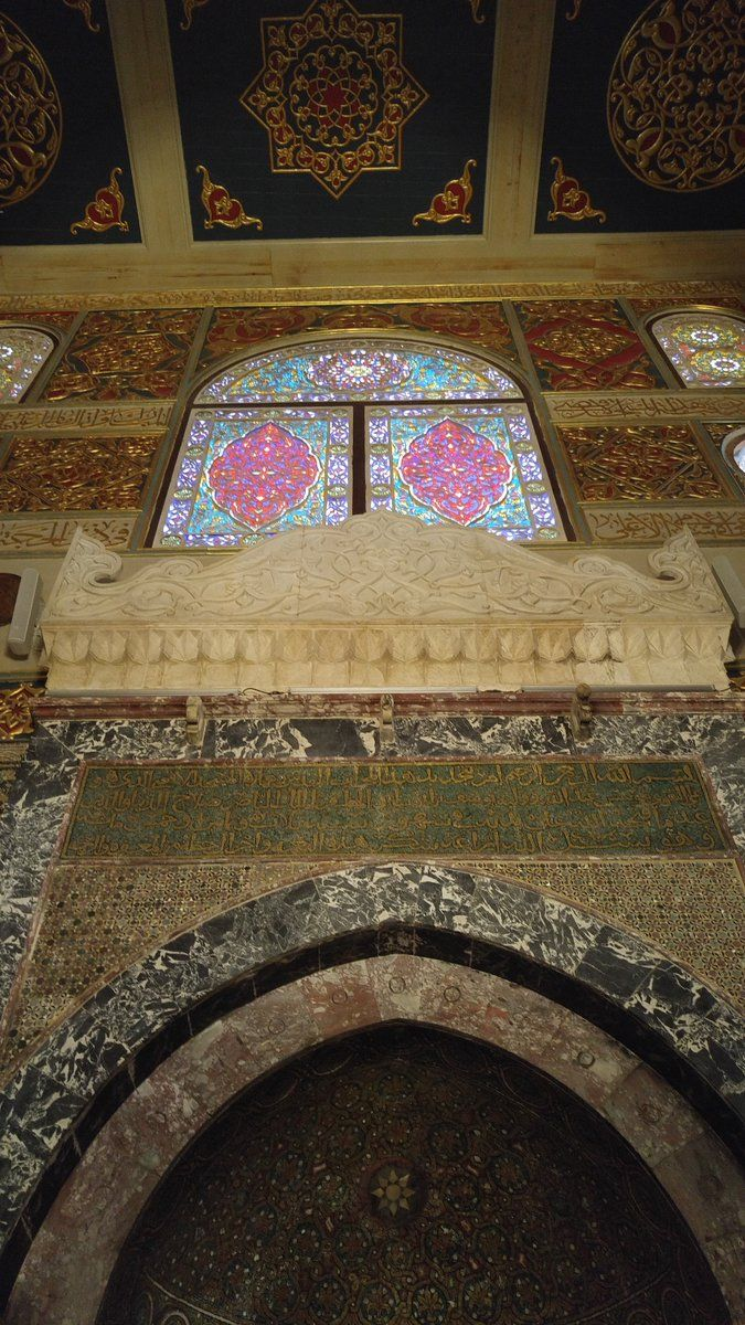 The mihrab of Masjid al-Aqsa via @LostislamicHist