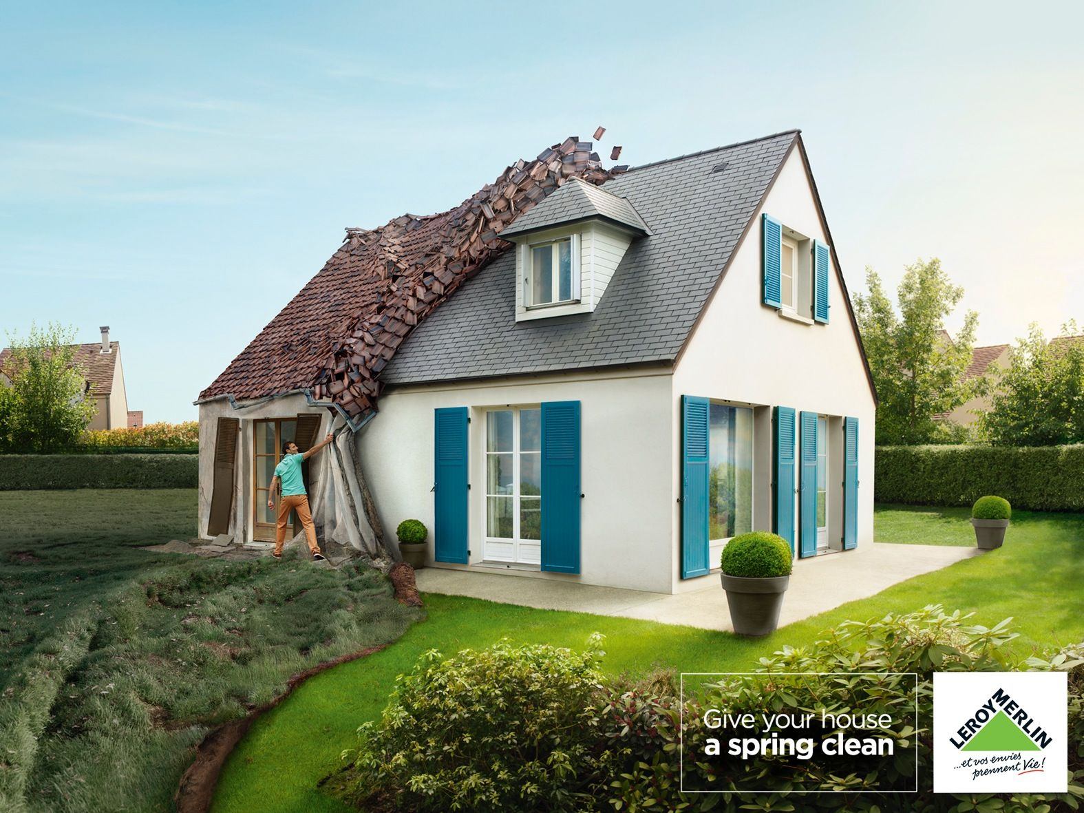 Leroy Merlin Spring Cleaning Advertising Spring