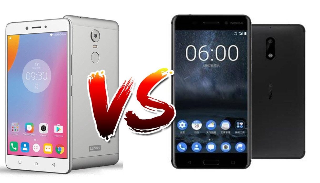 Lenovo P2 vs Nokia 6 Comparison - Which is Best   All About
