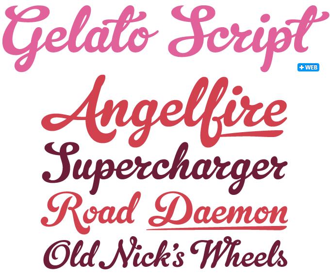 Gelato Script font sample   Type   Pinterest   Gelato and Fonts