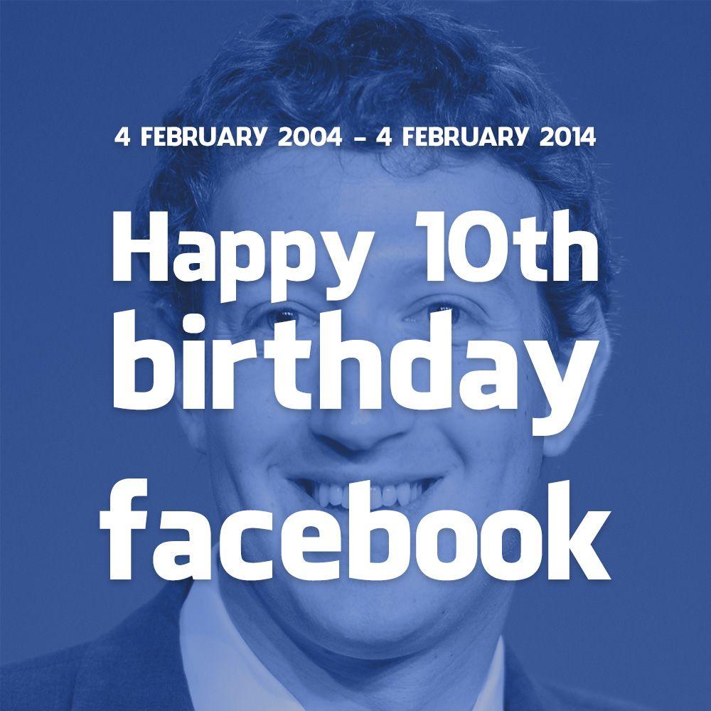 Happy 10th Birthday Facebook! #iFactory #iFactoryDigital #happybirthday #10years #facebookbirthday #happybirthdayfacebook #happy10thbirthdayfacebook #facebook #blue #zuckerburg