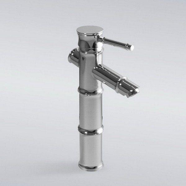 Bamboo Euro Modern Bathroom Vessel Vanity Sink Lavatory Faucet Tall ...
