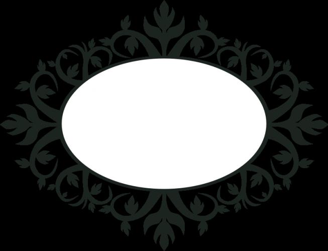 Moldura Oval Ornamentais Vetor Clip Art Vectores De Dominio Publico Moldura Oval Arabescos Vetor Arabesco Png