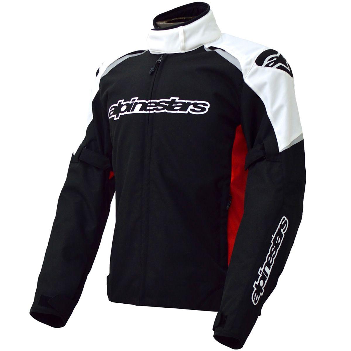 0e6fecf79 Jaqueta Moto Alpinestars Alux 100% Impermeável - Preta