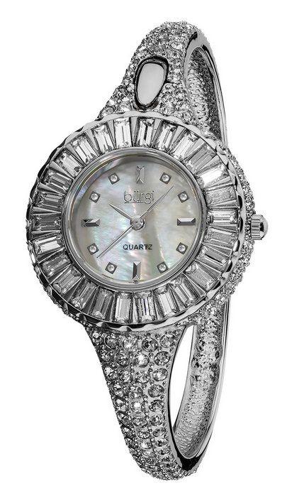 Silver Sizzling Diamond Bangle Watch