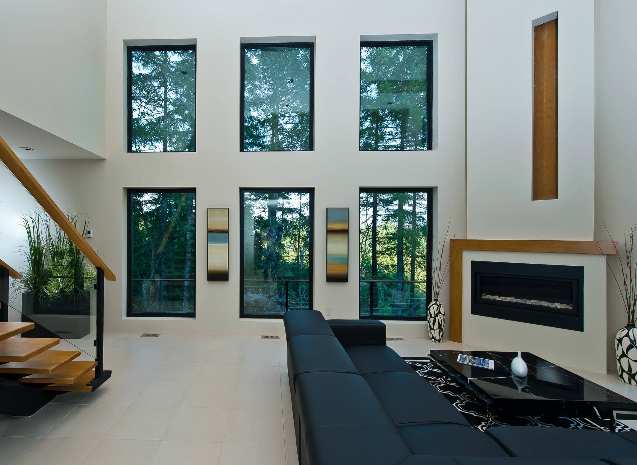Alair Homes | Nanaimo | Custom Homes   Black Framed Casement Windows Invite  Natural Light
