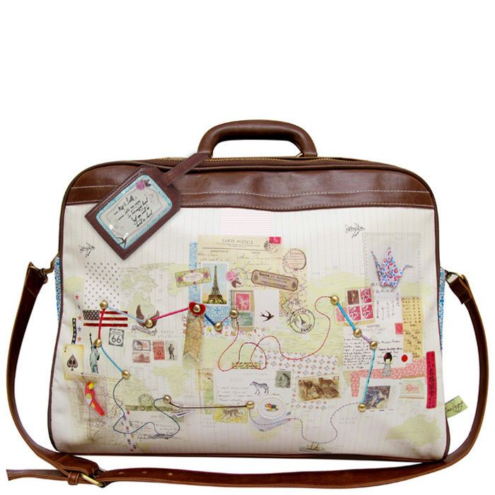 Bon Voyage Overnight bag by Disaster Designs | Little Moose | My ...