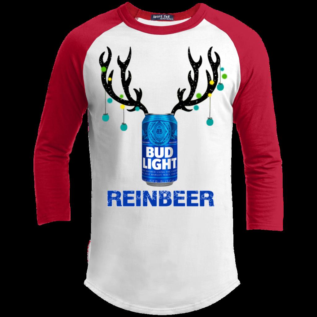 Crazy Rudolph Long Sleeve Top Mens Womens Kids Xmas Festive Christmas Reindeer