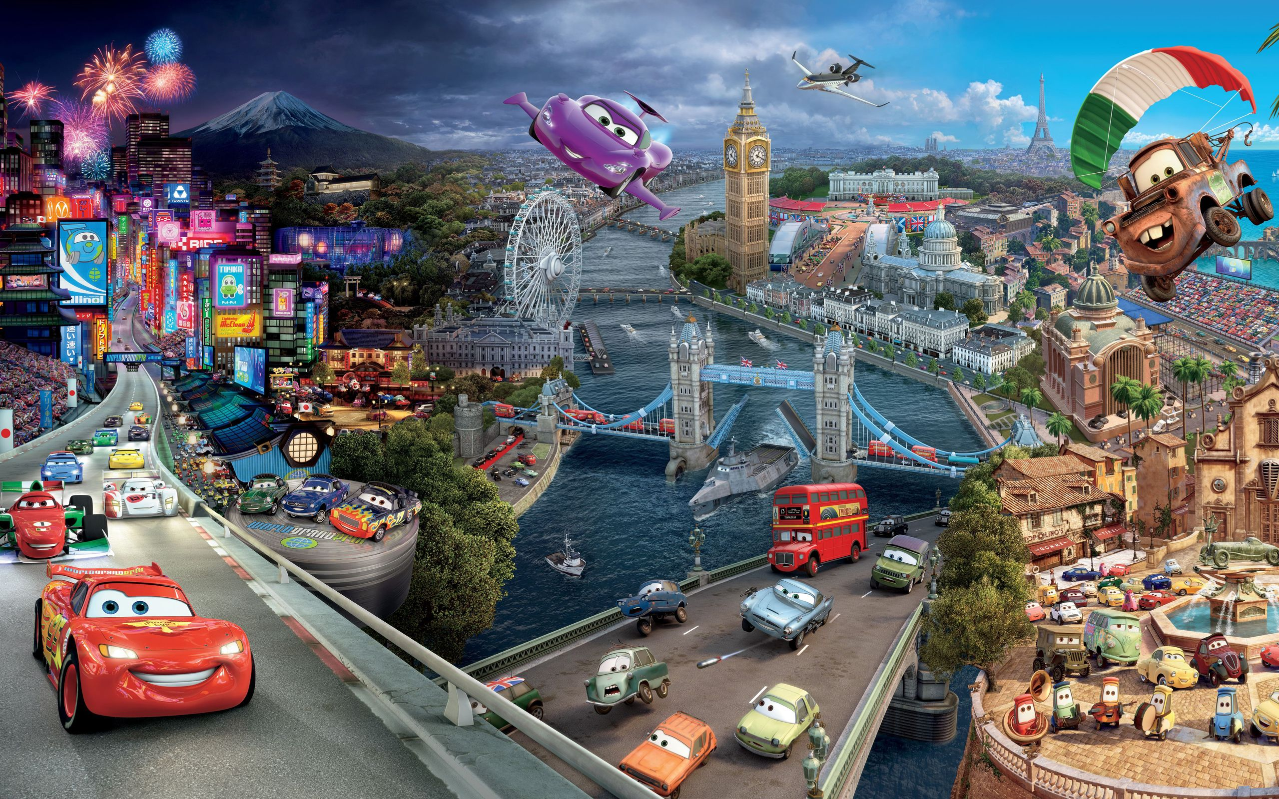 Movie Wallpapers High Resolution Cars 2 High Resolution