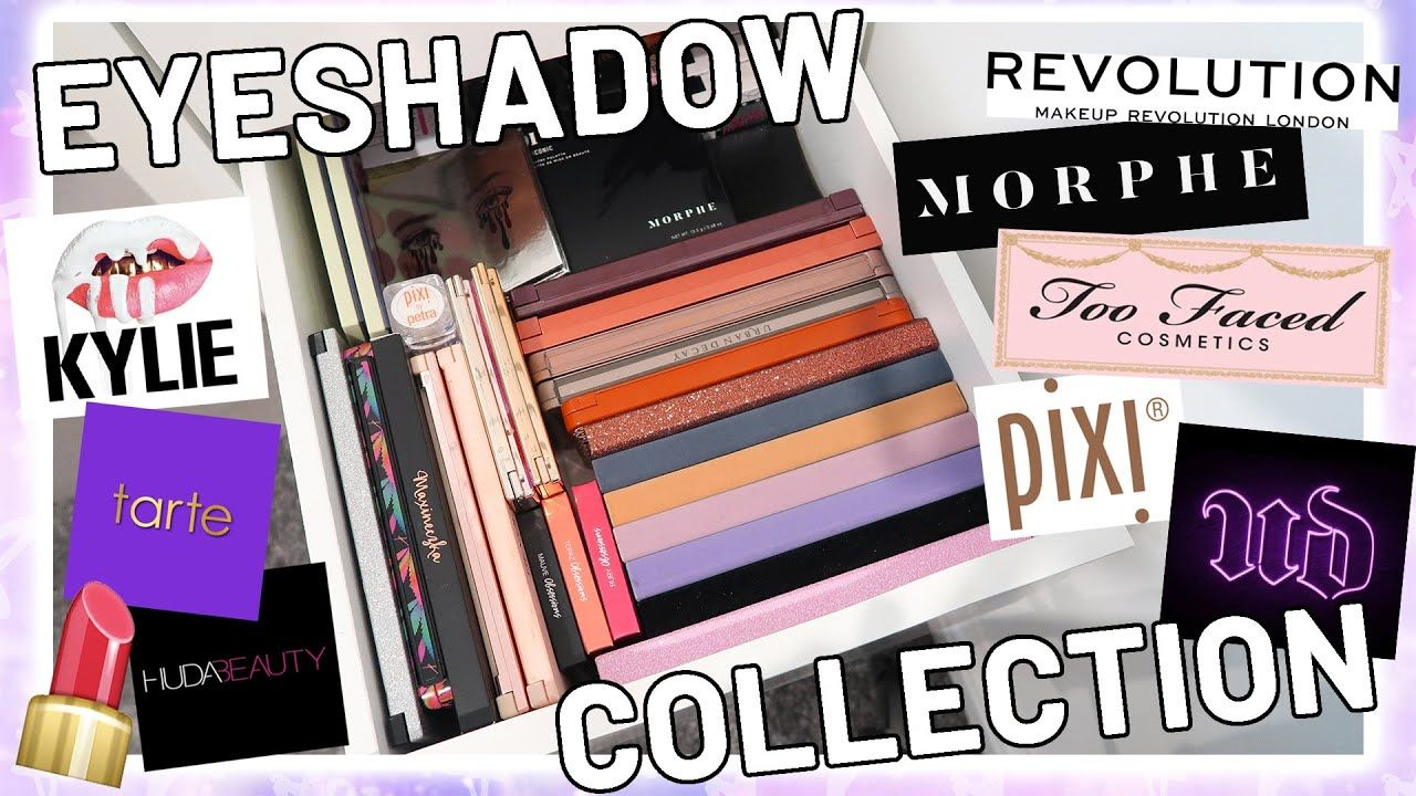 Massive Eyeshadow Collection Huge Makeup Collection August 2020 Luce In 2020 Eyeshadow Collection Makeup Collection Make Up Collection