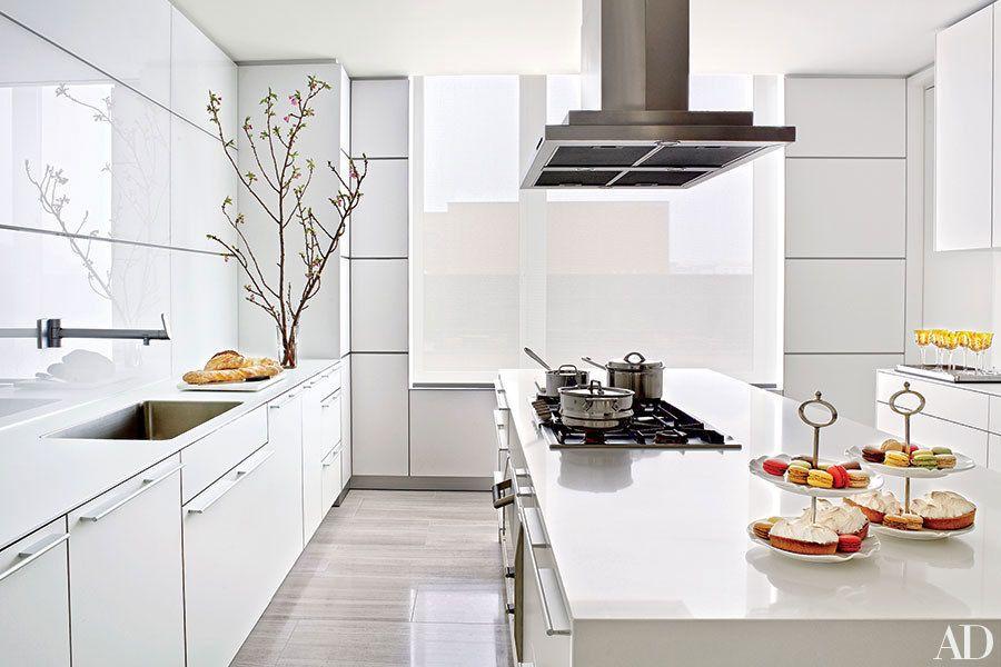 Modern Kitchen Images Architectural Digest modern kitchen design ideas photos | architectural digest | white