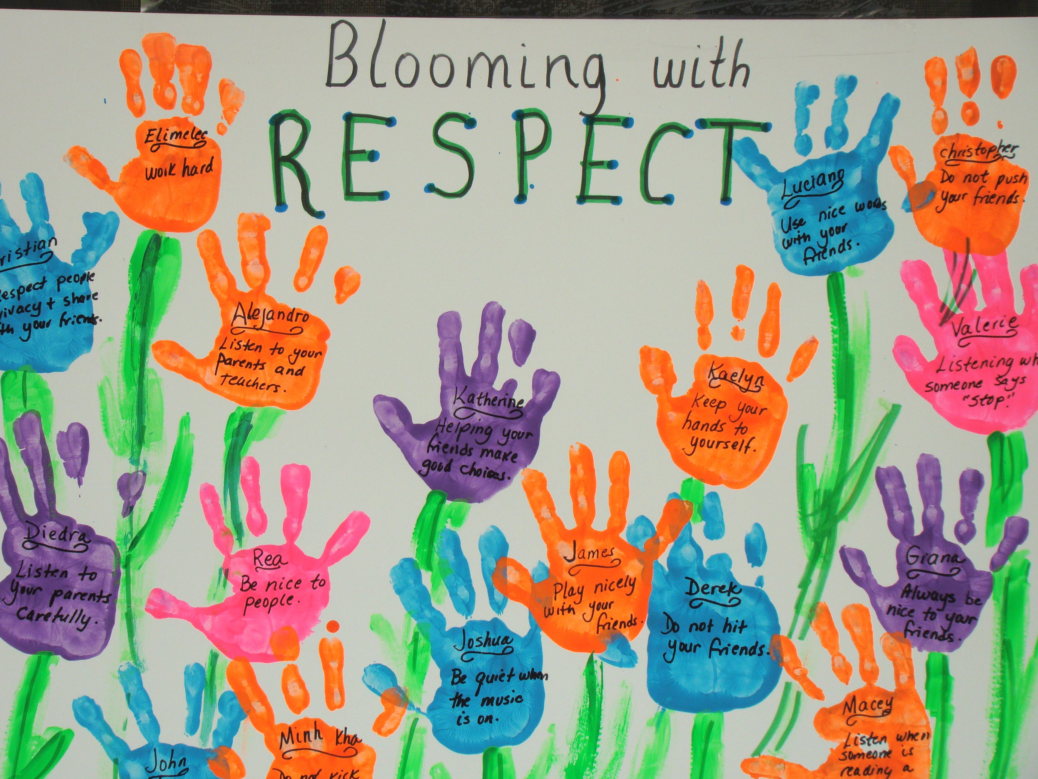 ideas about respect bulletin boards on pinterest  character  could make a respect week lesson from this