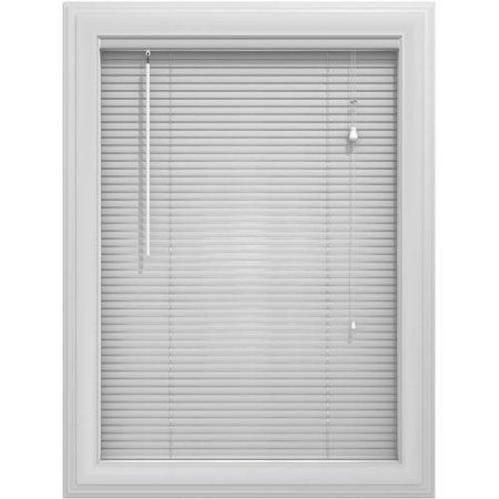 Bali Essentials 1 Inch Premium Vinyl Blind Corded Light Gray Vinyl Blinds Aluminum Blinds Blinds