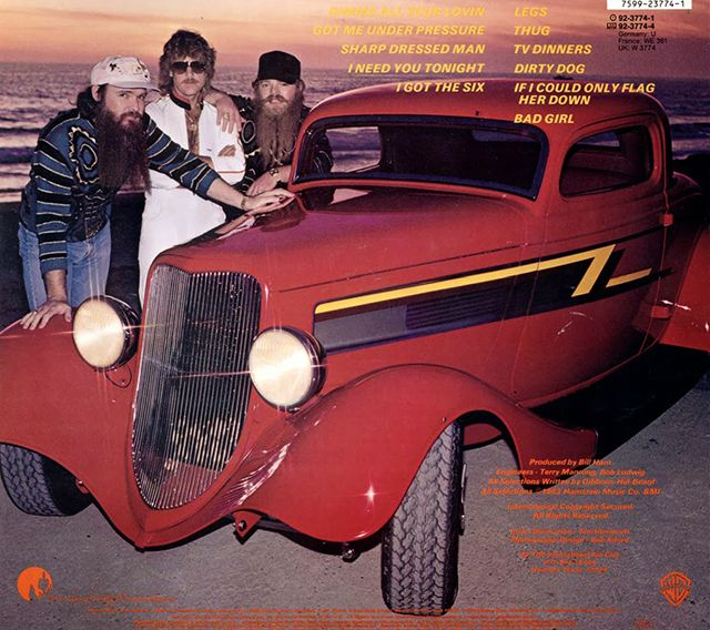 What Classic Car Is On Zz Tops Album