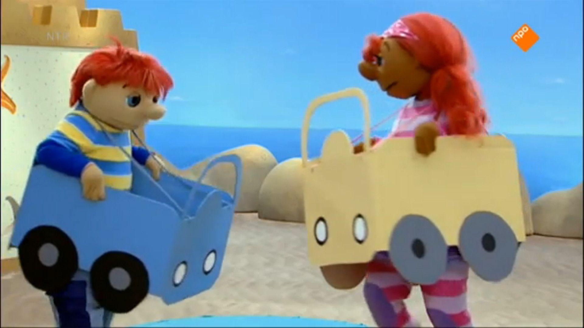 het zandkasteel verkeer vervoer thema vervoer en