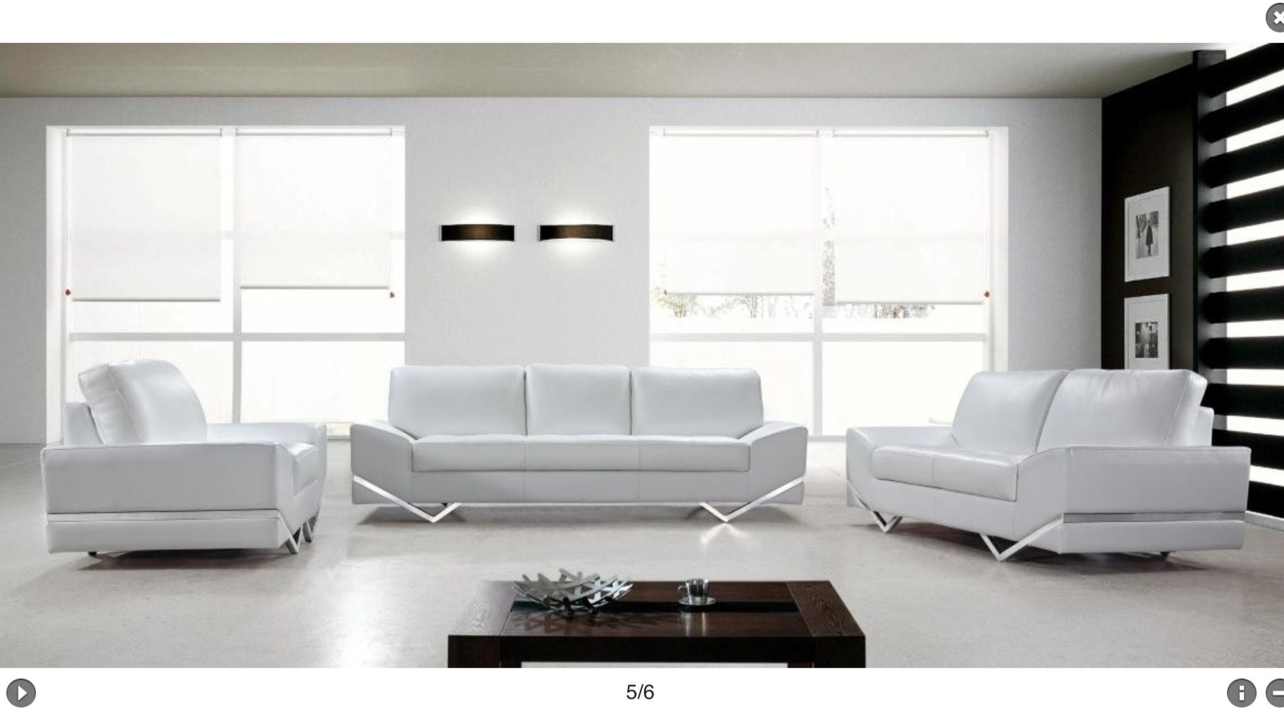 My living room set! Either two love seats and a couch or two couches ...