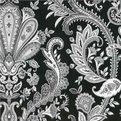 Interior Place - Black MD29430 Paisley Wallpaper, $14.99 (http://www.interiorplace.com/black-md29430-paisley-wallpaper/)