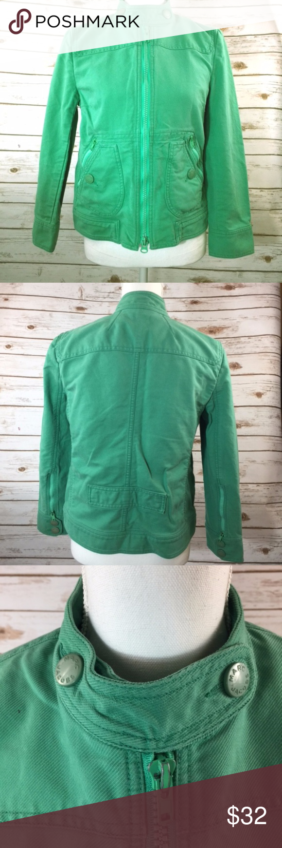 Marc Jacobs Jacket Lime Green | Clothes design, Marc jacobs