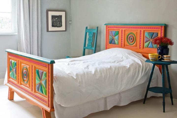 Slaapkamer Meubels Verven : Hip bed jdl vintage paint pinterest paints en vintage