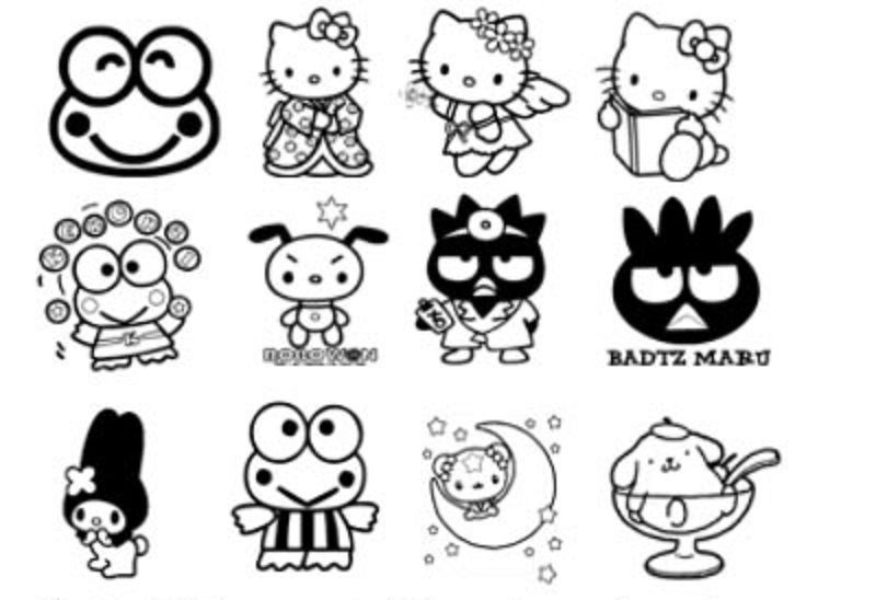 Pochacco Coloring Pages Coloring Page Ideas print vintage 60s
