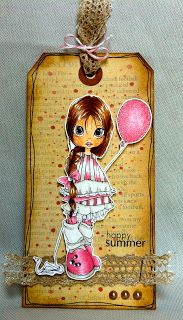 Handmade Greeting Cards by Maria Becske.: Happy Summer!!!