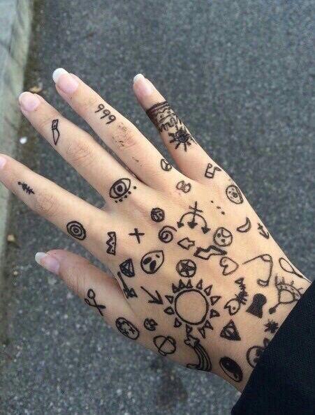 Resultado De Imagen Para Tatuajes En Las Manos Tatuajes