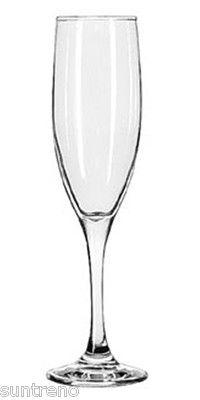 Libbey 3796 Embassy Royale 6 oz Champagne Tall Flute Glasses 12 piece / 1 dozen