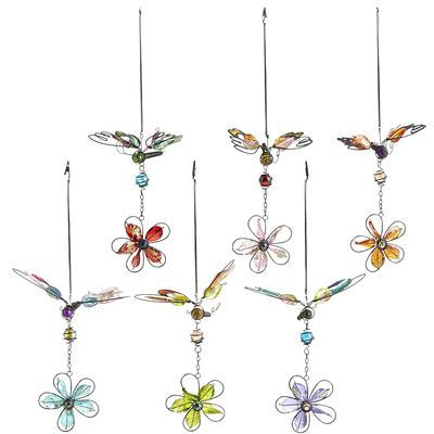 Pier 1 Dragonfly Clip To Patio Umbrella